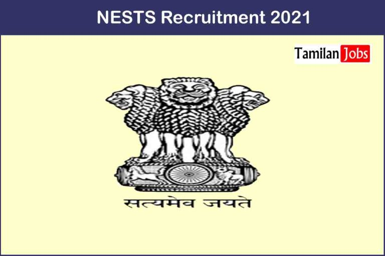 NESTS Recruitment 2021 Out – Apply 16 Assistant Commissioner Jobs