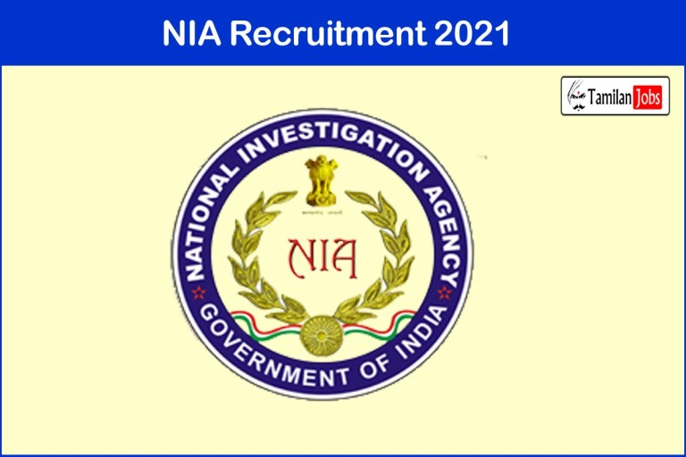 NIA Recruitment 2021 Out – Apply 25 Assistant, Accountant Jobs