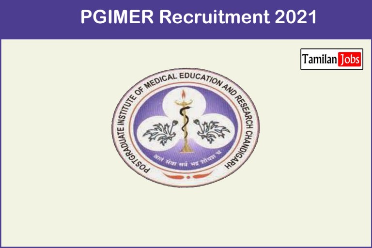 PGIMER Recruitment 2021 Out – Apply Online 5 Research Scientist Jobs