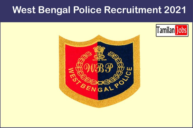 West Bengal Police Recruitment 2021 Out – Apply 16 Driver Jobs