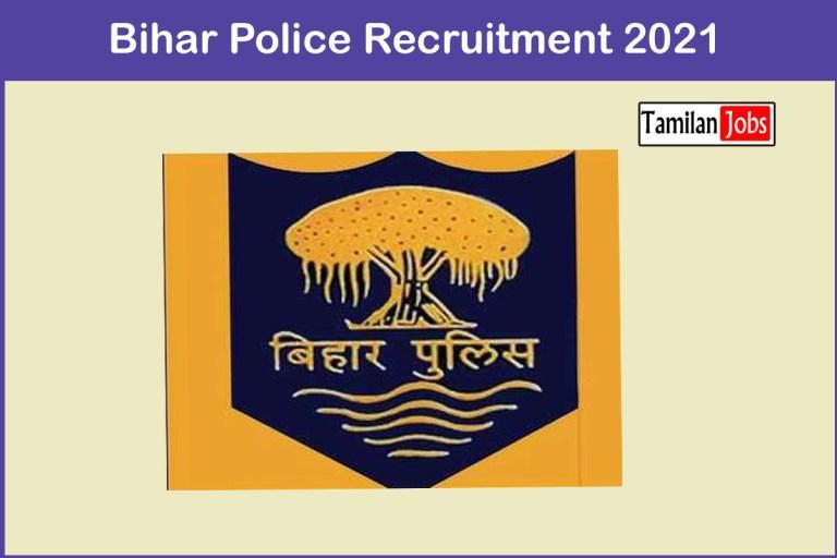 Bihar Police Recruitment 2021 Out – Apply 2380 Fireman Jobs