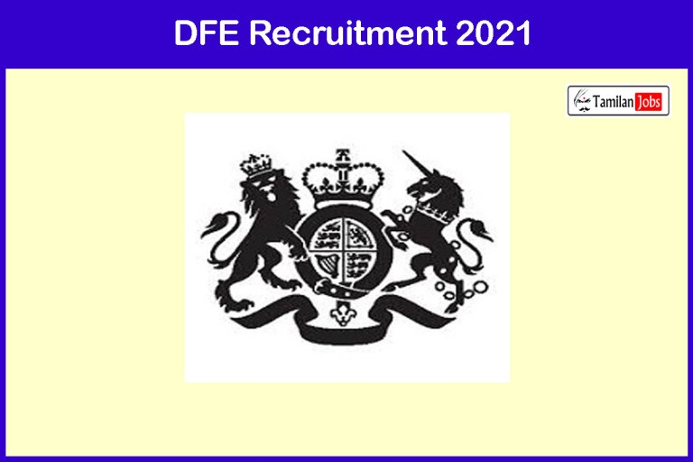 DFE Recruitment 2021 Out – Apply Online 18 Accountant, Sports Officer Jobs