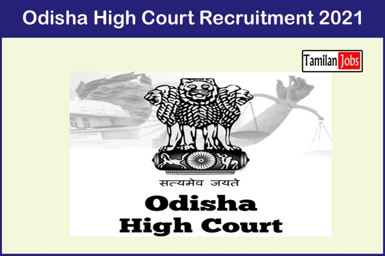 Odisha High Court Recruitment 2021 Out – Apply 202 Assistant Section Officer Jobs