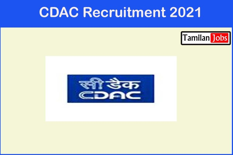 CDAC Recruitment 2021 – Apply Online 23 Project Engineer & others Jobs