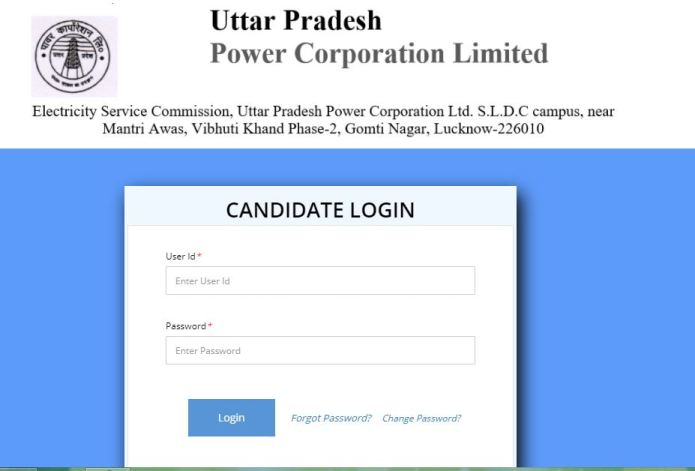 UPPCL Junior Engineer Admit Card 2021 (Released) | Check JE Selection List @ www.upenergy.in