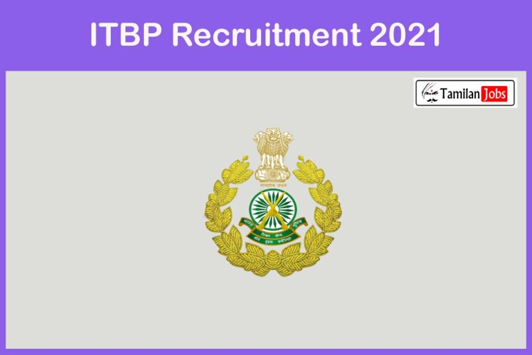 ITBP Recruitment 2021 Out – Apply 99 GDMO & Specialist Jobs