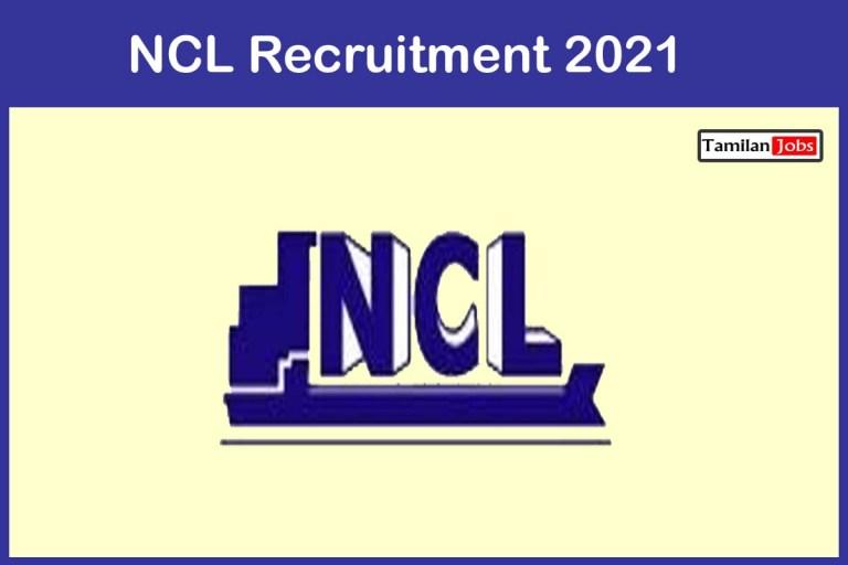 NCL  Recruitment 2021 Out – Apply Online Senior Project Associate Jobs