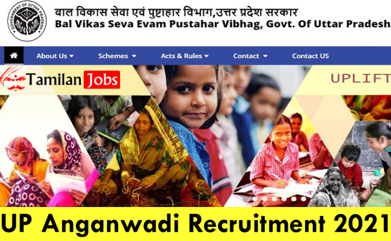 UP Anganwadi Recruitment 2021 Out – Apply Online 53000 Anganwadi Worker, Helper Jobs
