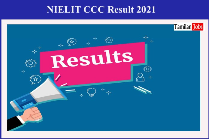 NIELIT CCC April Result 2021 Declared on 17.05.2021, Available @ www.nielit.gov.in