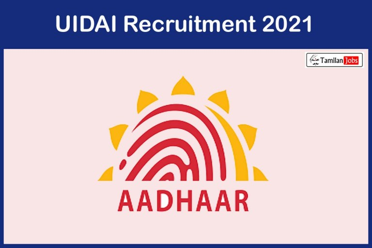 UIDAI Recruitment 2021 Out – Apply For Deputy Director General Jobs