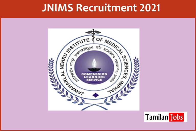 JNIMS Recruitment 2021 Out – Apply Online 113 Staff Nurse, Sweeper Jobs