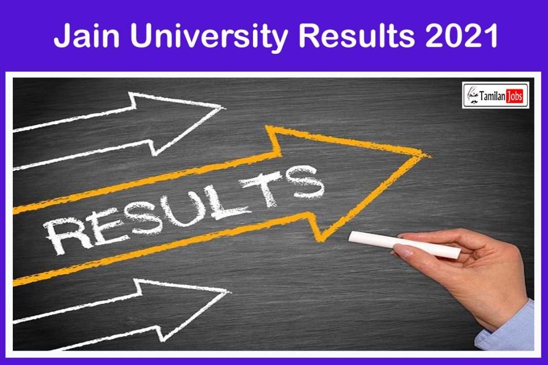 Jain University Results 2021