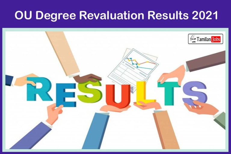 OU Degree Revaluation Results 2021 {Declared} @ osmania.ac.in