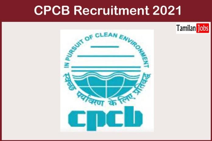 CPCB Recruitment 2021 Out – Apply For 13 Senior Technical Supervisor Jobs