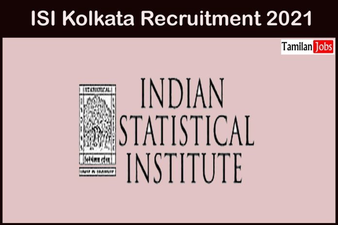 ISI Kolkata Recruitment 2021 Out – Apply Online Project Linked Person Jobs