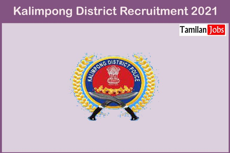 Kalimpong District Recruitment 2021 Out – Apply Online 10 Lab Technician Jobs