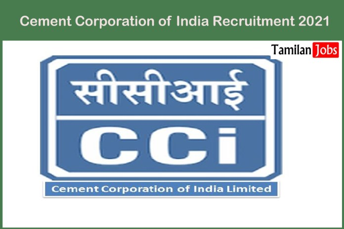 Cement Corporation of India Recruitment 2021 Out – Apply For 13 Technical Consultant Jobs