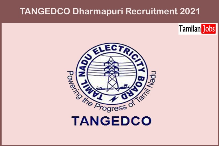 TANGEDCO Dharmapuri Recruitment 2021 Out – Apply Online Electrician Jobs