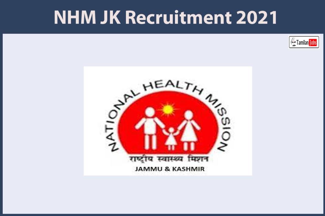 NHM JK Recruitment 2021