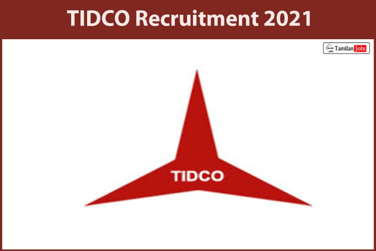 TIDCO Recruitment 2021 Out – Apply Online Executive Managing Director Jobs