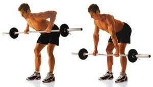 man-doing-barbell-rowing-workout