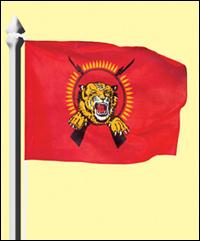 Tamileelam National Flag