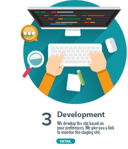 Website Design Process: Development
