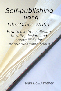 Self-Publishing using LibreOffice Writer