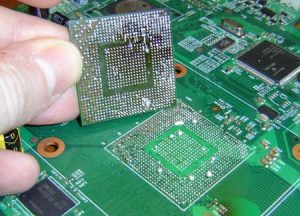 Casper laptop ekran kartı tamiri