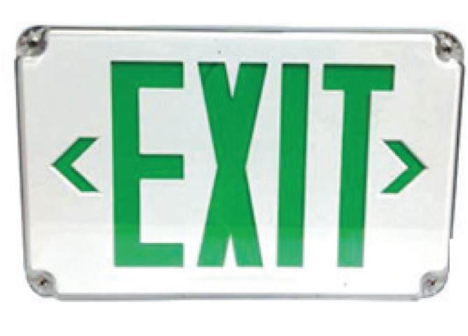 Image result for exit sign