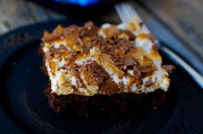 Smores Brownies Recipe