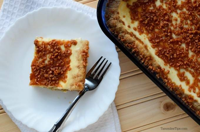 Creme Brulee Cheesecake Bars Recipe