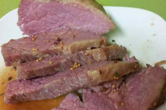 Guiness Glazed Corned Beef Recipe