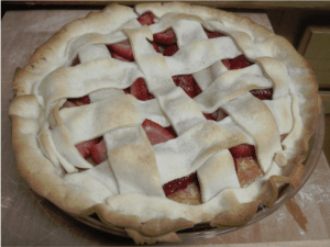 strawberry Cake pie 5