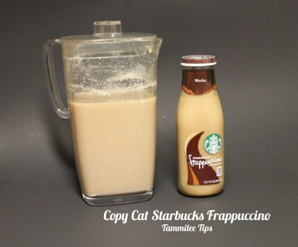 Copy Cat Starbucks Frappuccino