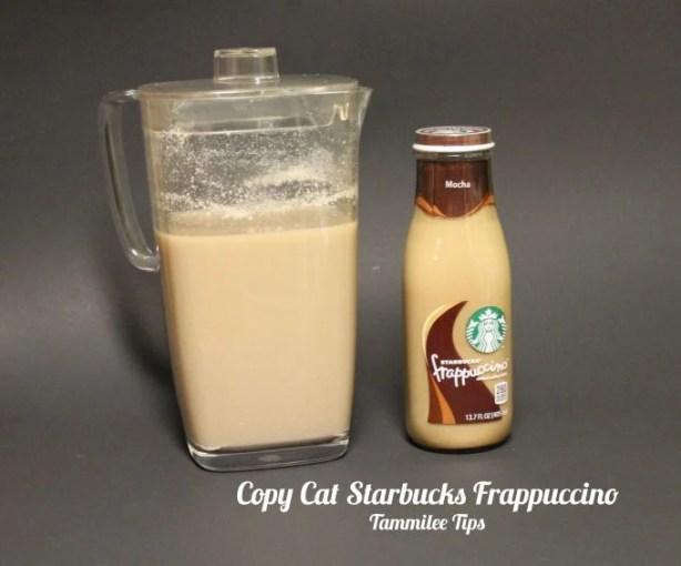 Copy Cat Starbucks Frappuccino