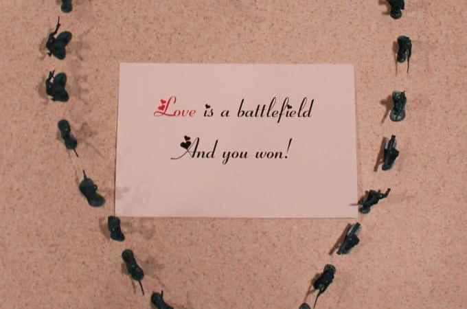 Love Is a Battlefield! Valentine's Day Gift