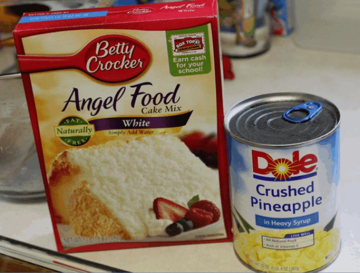 Pineapple Angel Food Cake Recipe