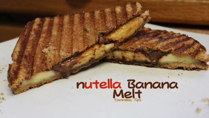 Nutella Banana Melt Recipe