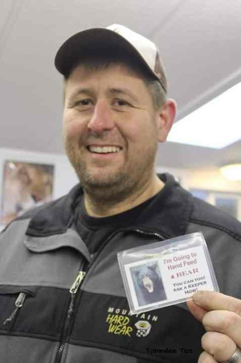 Cat Tales Spokane John Bear Card