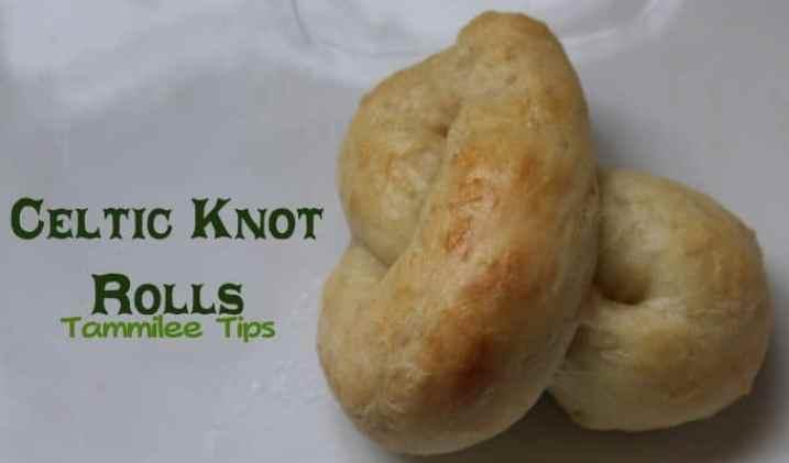 Celtic Knot Rolls