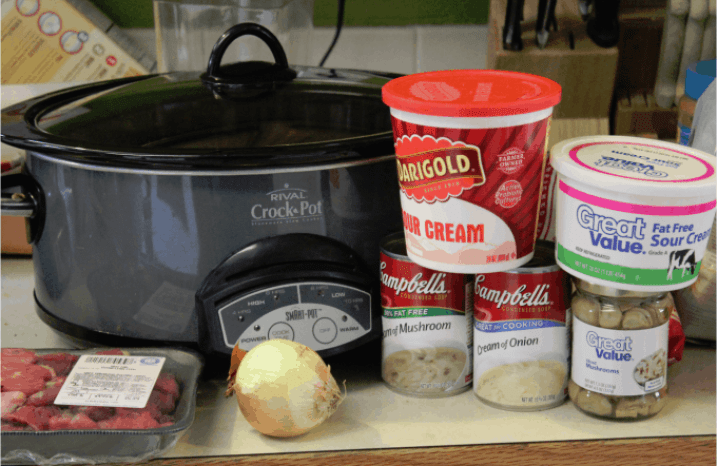 Crock Pot Beef Stroganoff Recipe