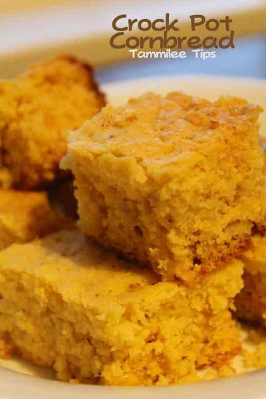 Crock Pot Cornbread Tammilee Tips