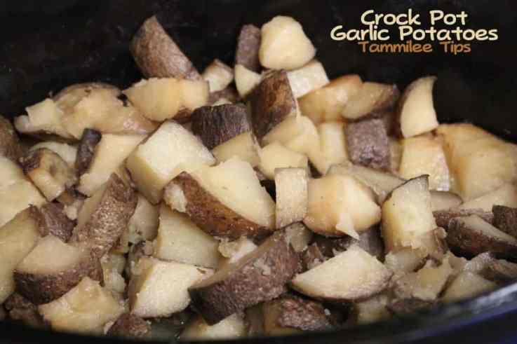 Crock Pot Garlic Potatoes Tammilee Tips