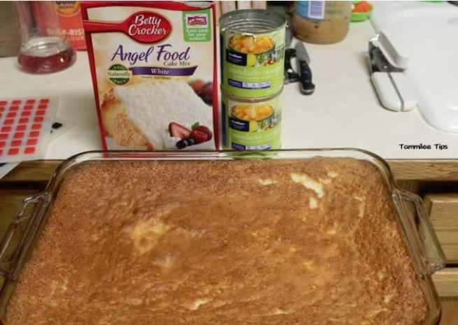 mandarin Orange Angel Food Cake