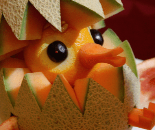 Amazing Fruit Animals on the Golden Princess