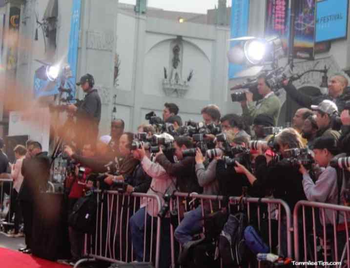 Iron Man 3 Red Carpet Premiere at the El Capitan Theater 9.1