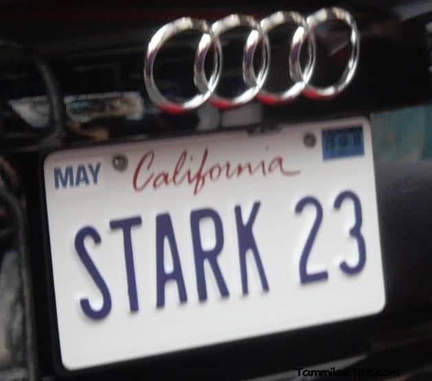 Stark 23 Audi License Plate