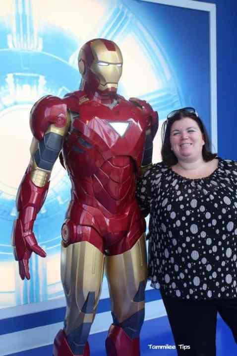 Iron Man at Madame Tussards Tammilee Tips