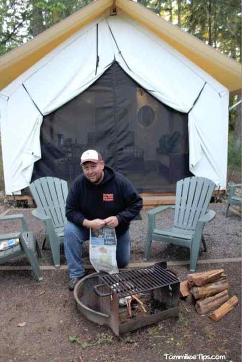Lakedale Resorts Glamping Tent 6